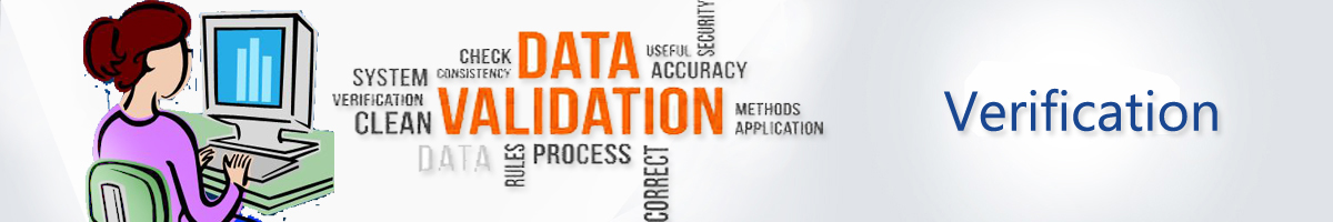 Verification And Validation Of Data